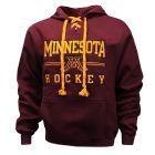 Hockey Stick Lace Hooded Sweatshirt