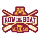 Row The Boat Acrylic Magnet