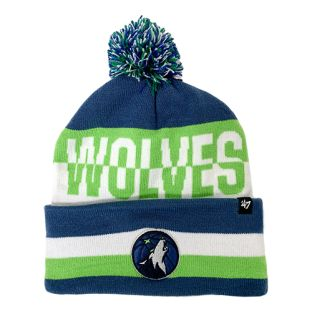 Minnesota Timberwolves Split Text Pom Knit