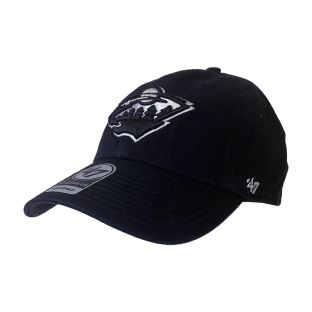 Minnesota Wild Black Clean Up Hat