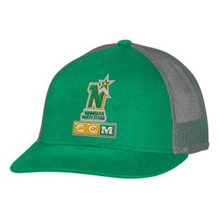 Minnesota North Stars CCM Mesh Trucker Hat