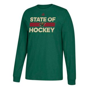 Minnesota Wild State of Hockey Long Sleeve Shirt