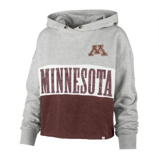 47 Brand Women's Lizzy Cut Off Pullover Hoodie
