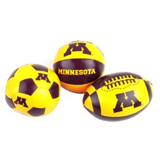 Soft Touch Three Pack Of Balls