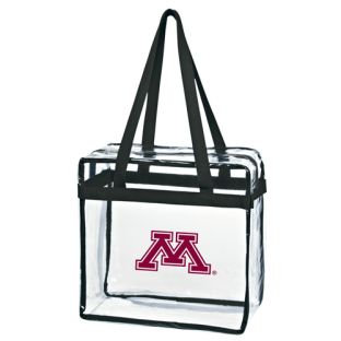 Clear Block M Tote Bag