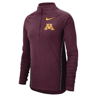 Nike Women's Print Trim 1/4 Zip Jacket