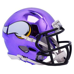 Minnesota Vikings Riddell Mini Chrome Helmet