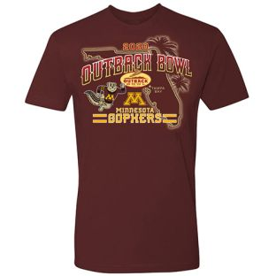 2020 Official Outback Bowl State Game T-Shirt