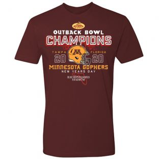 Football Outback Bowl Champions T-Shirt