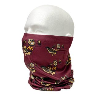 Repeat Goldy Sublimated Neck Gaiter