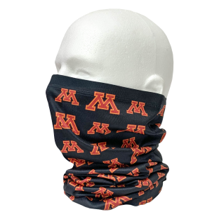 Repeat Block M Sublimated Neck Gaiter