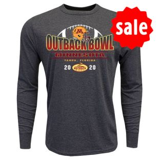 2020 Outback Bowl Half Ball Long Sleeve T-shirt
