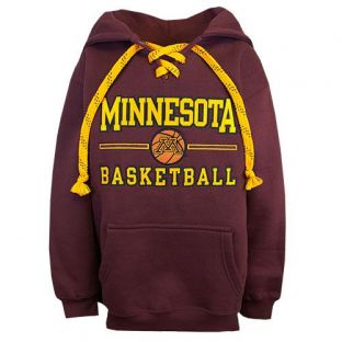 Basketball Line Lace Youth Hooded Sweatshirt