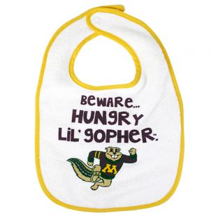 Beware Of Goldy Infant Bib