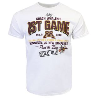 Signature Coach Whalen First Game Back T-Shirt