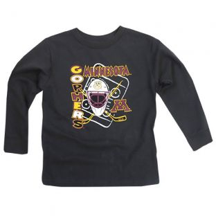 Signature Toddler Hockey Goal Long Sleeve T-Shirt