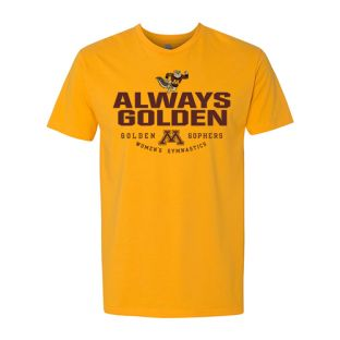 Gymnastics Always Golden T-Shirt