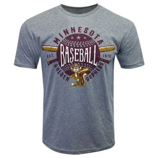 Signature Retro Baseball Oufield Short Sleeve Tee