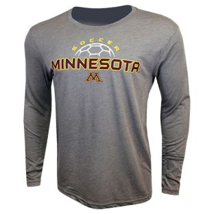 Soccer Free Kick Tri-Blend Long Sleeve T-Shirt