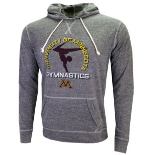Gymnastics Balance Jersey Hooded T-Shirt