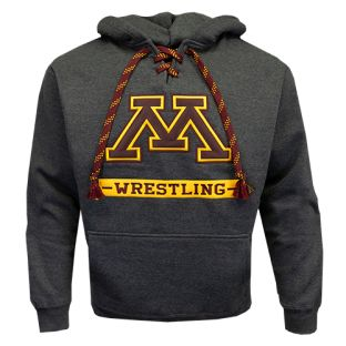 Wrestling Bold M Laced Hood
