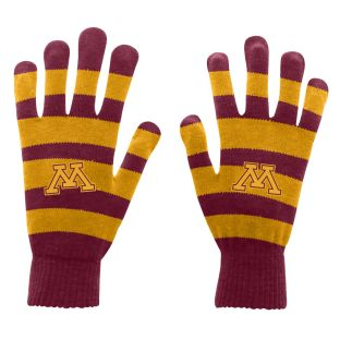 Rugby Stripe Knit Gloves