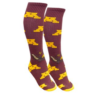 TCK Sports Goldy Knee High Sock