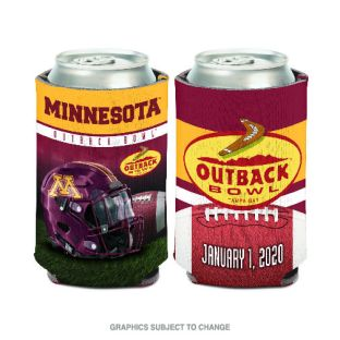 Wincraft 2020 Outback Bowl Can Coozie