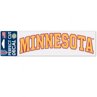 "3""x10"" Minnesota Decal"