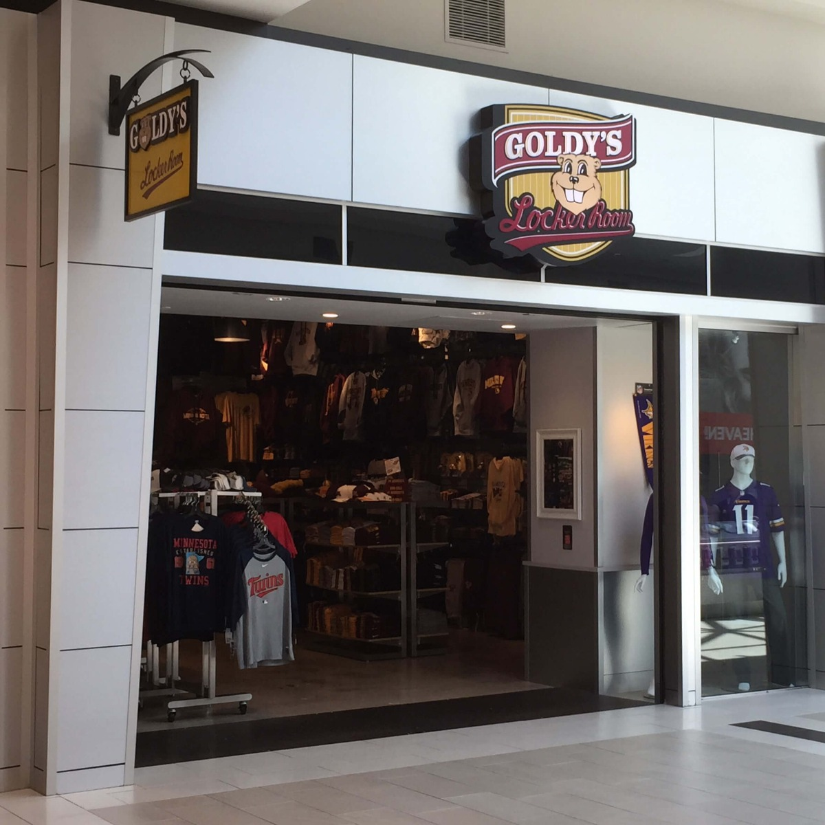 Apache Mall Goldy's Locker Room