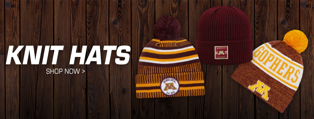 Minnesota Golden Gophers Knit Hats