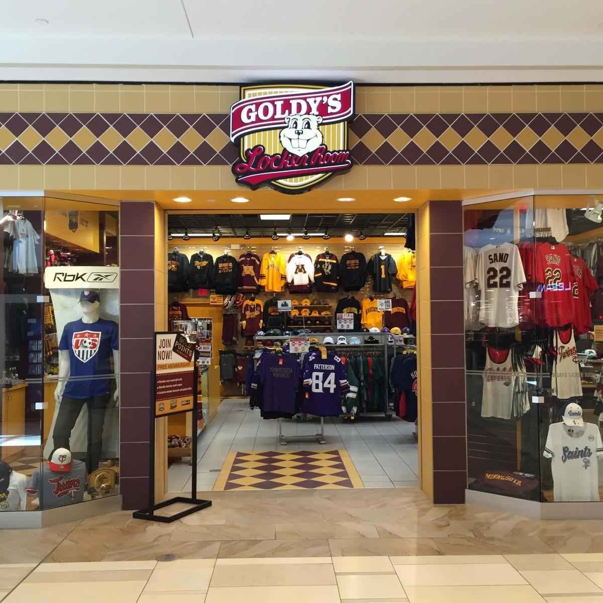 Ridgedale Center Goldy's Locker Room